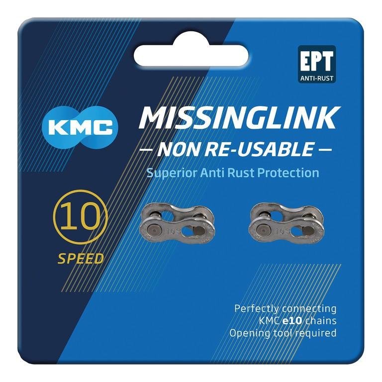 KMC Missinglink 10NR EPT (2 ks) stříbrná