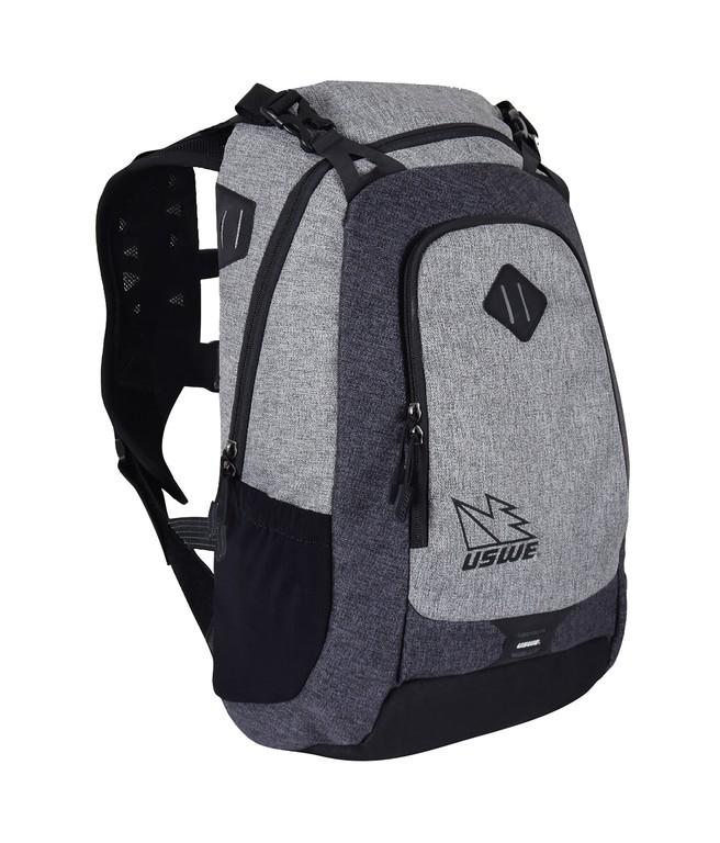 Commuter-ruksak USWE Prime 26, šedá bez rezervoáru na pití