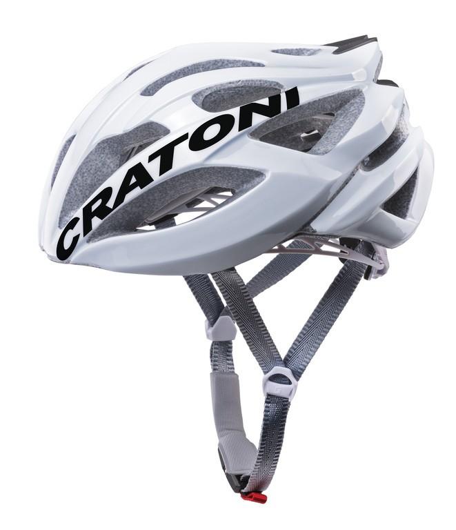 Cykl.helma Cratoni C-Bolt (Road), vel. M/L (56-59cm) bílá/cerná lesklá