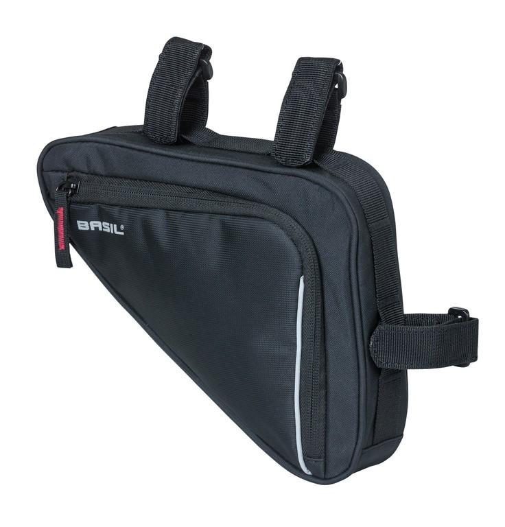 Taška na rám Basil Sport Design Triangel cerná, vodeodolná, 1,7l