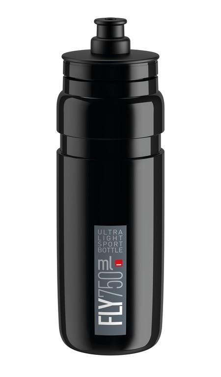 Láhev na pití Elite Fly, 750ml, cerná/šedá