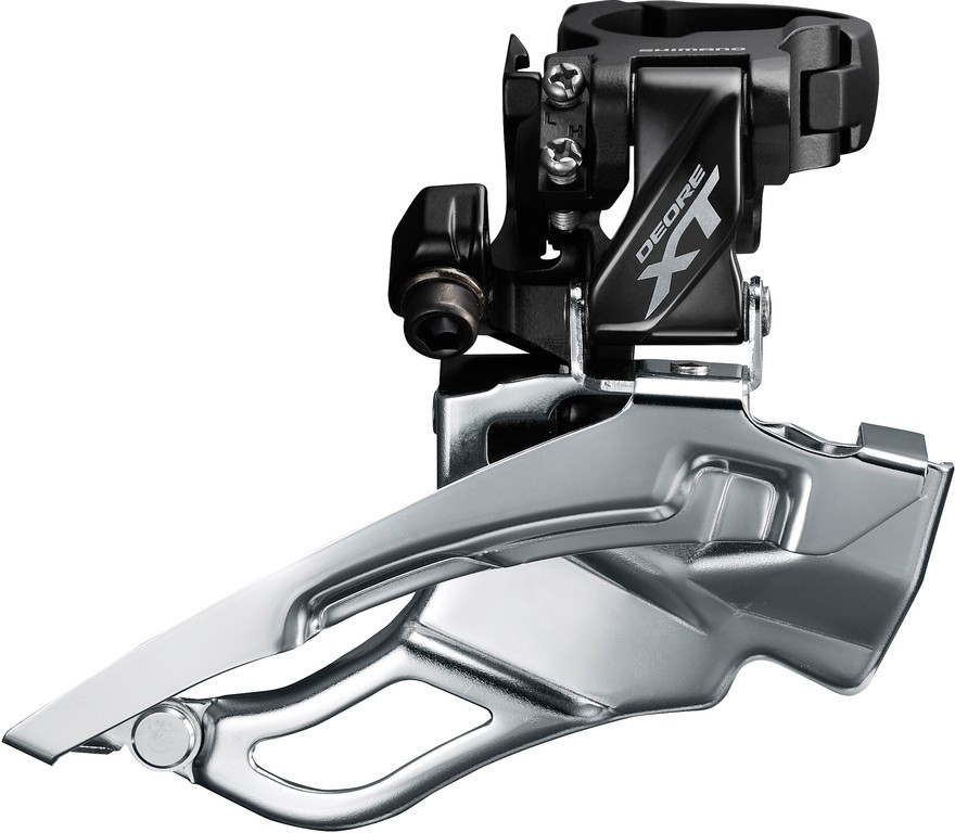 Presmykac Shimano Deore XT Down-SwingFD-T8000,Dual Pull,63-66° cerná High-C