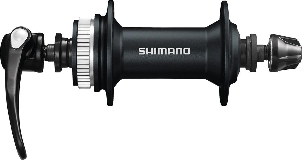 Náboj pr.kola Shimano Alivio HB-M 4050108mm,32 der,cerná,Centerlock, rychloup.