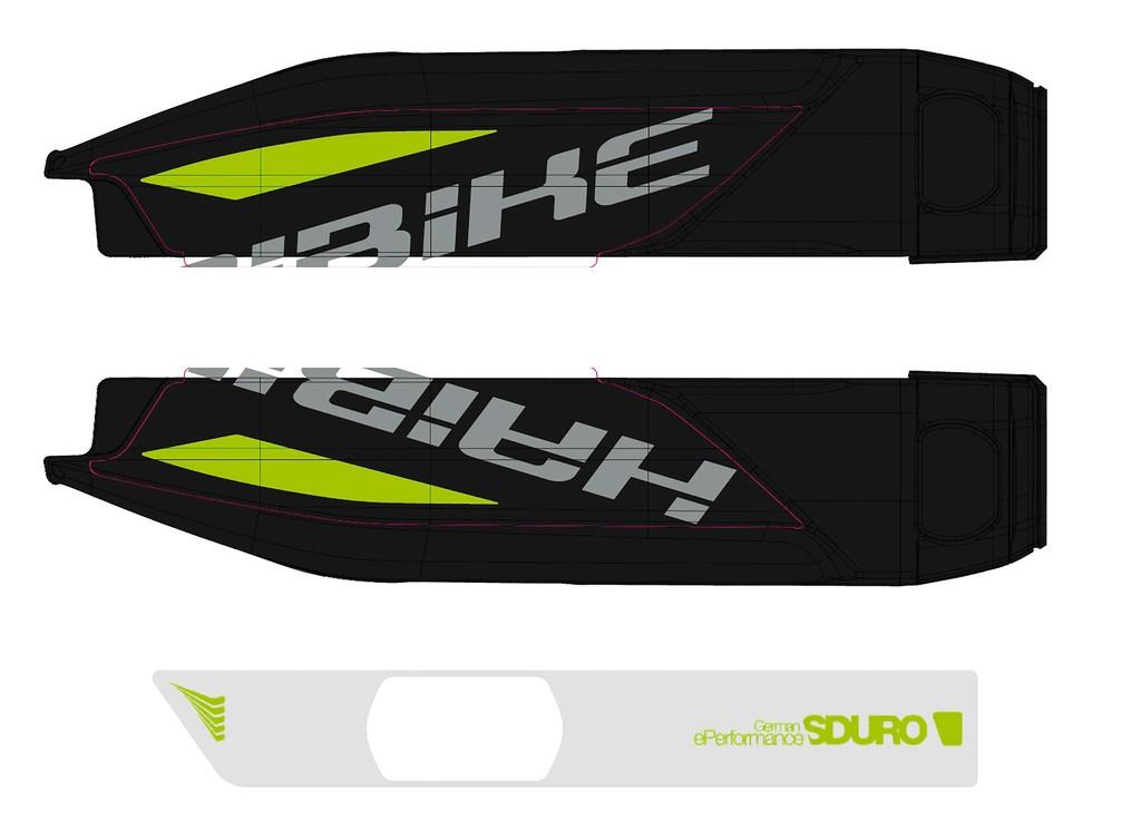 Haibike Sduro pro baterii Yamaha 2017 černá/šedá/neonově zelená