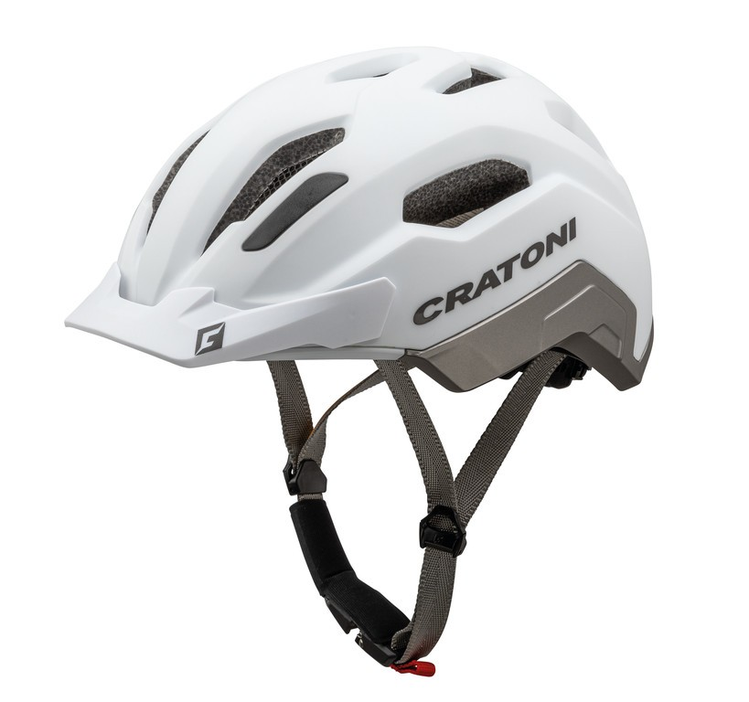 Cratoni C-Classic (City), Vel. M/L (54-58cm) bílá/antracit mat.