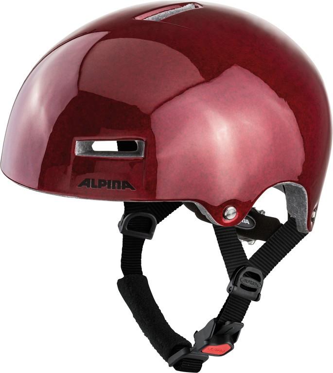Helma Alpina Airtimečeervená vel.52-57cm