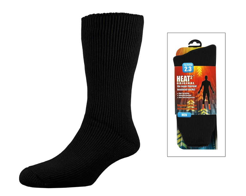 Heat² Original Sock Men černé vel.40-45