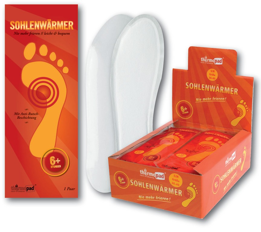 Thermopad Foot Warmer 12h vel. EU 36-39