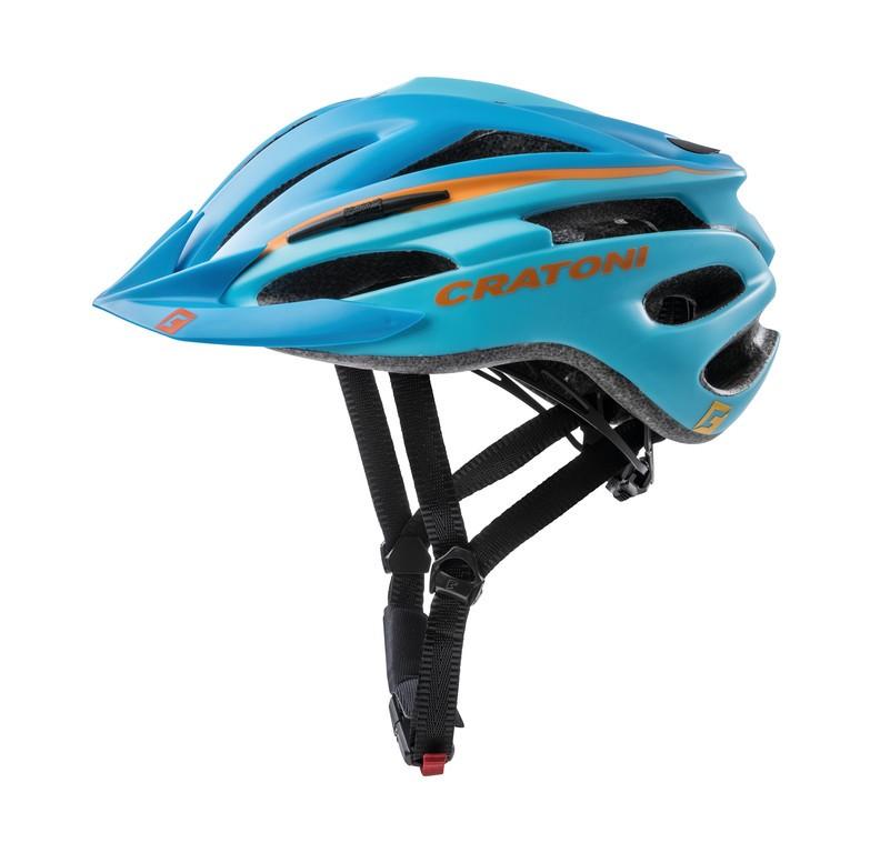 Cykl.helma Cratoni Pacer (MTB), vel.XS/S (49-55cm) modrá/oranžová matná