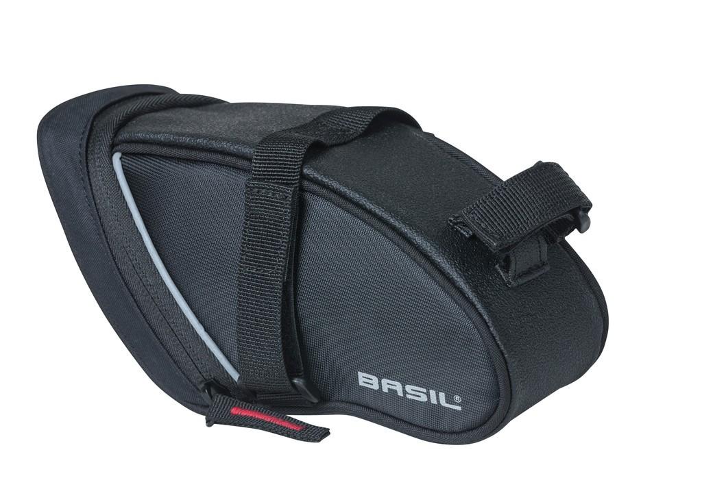 Taška pod sedlo Basil Sport Design cerná, vodeodolná, 1l