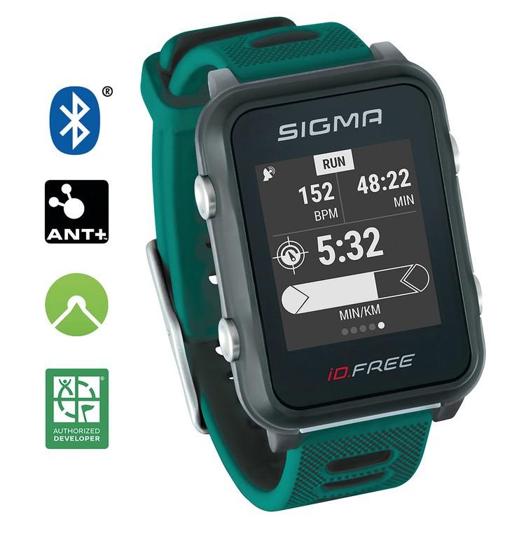 Sport. hodinky Sigma ID Free zelená