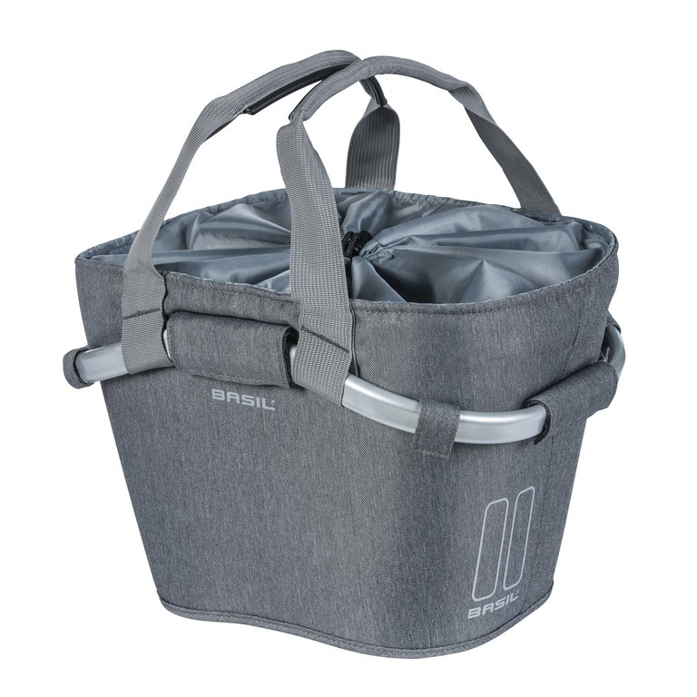 Basil Classic Carry All Front grey melee