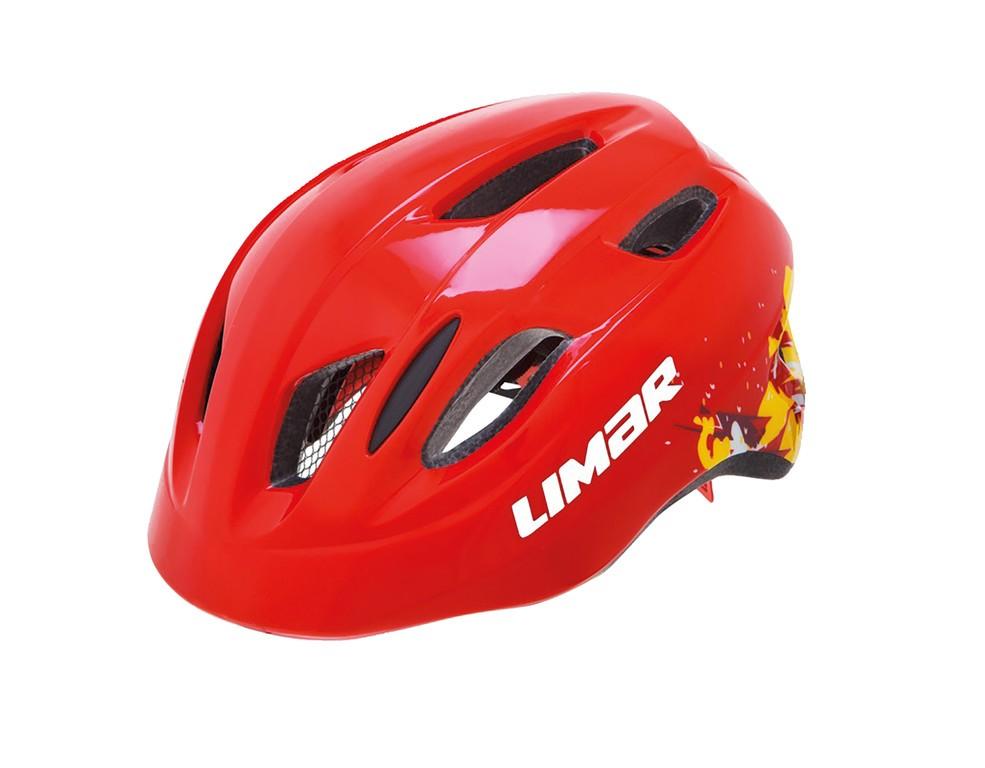 Limar Kid Pro M červená 50-56cm