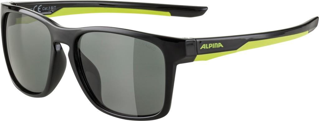Slunecní brýle  Alpina FlexxyCool Kids I, Obroucky cerná-neon sklo cerná