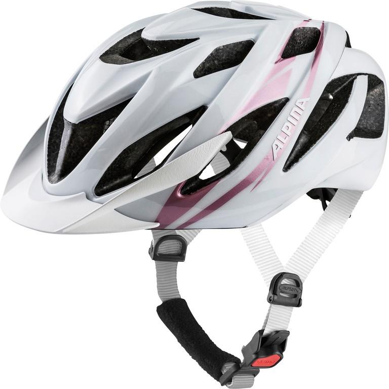 Cyklistická helma Alpina Lavarda, white-rose-golde vel.52-57cm