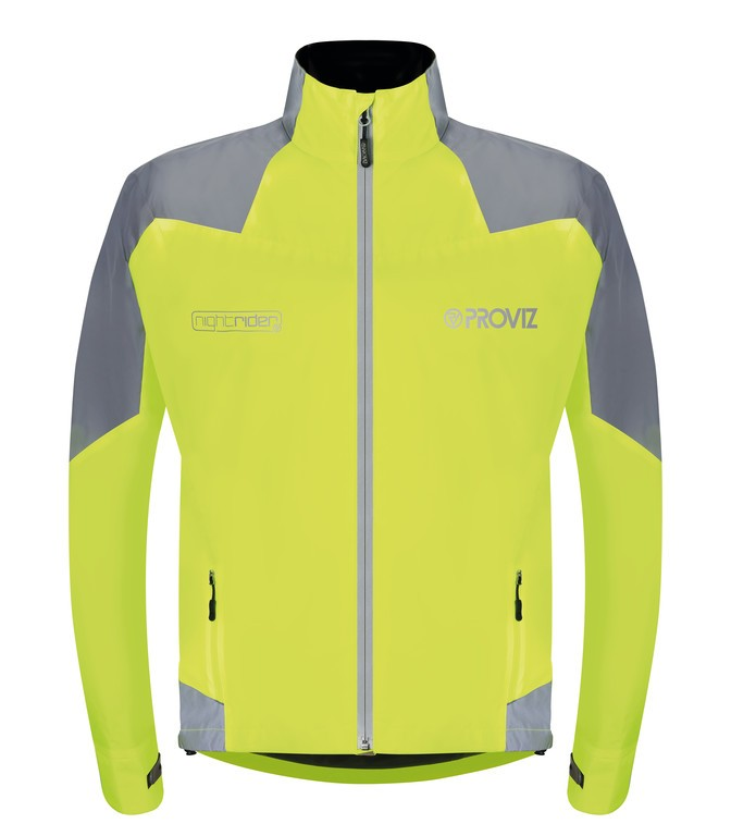 Proviz Nightrider bunda pánská žlutá/reflexní, XS