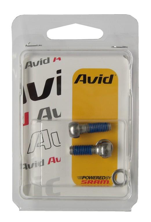 Šrouby Avid pro adaptér kotouc.brzd2 ks ocel