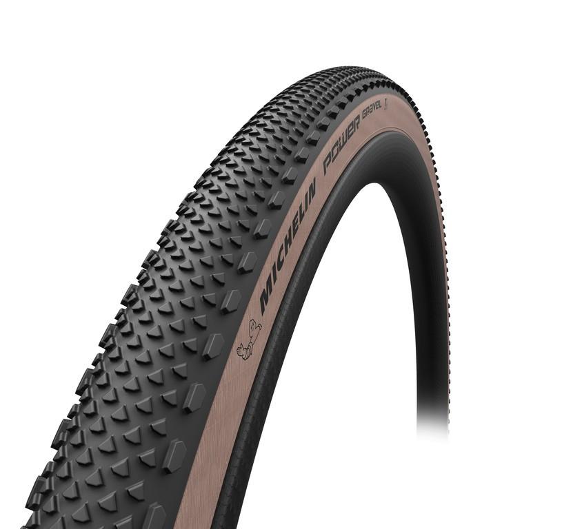 "Plášt Michelin Power Gravel skl., 28"" 700x47C 47-622 crn/jant.Skin TS TLR"