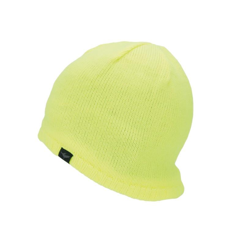 SealSkinz Cold Weather Beanie neonově žlutá vel.S/M