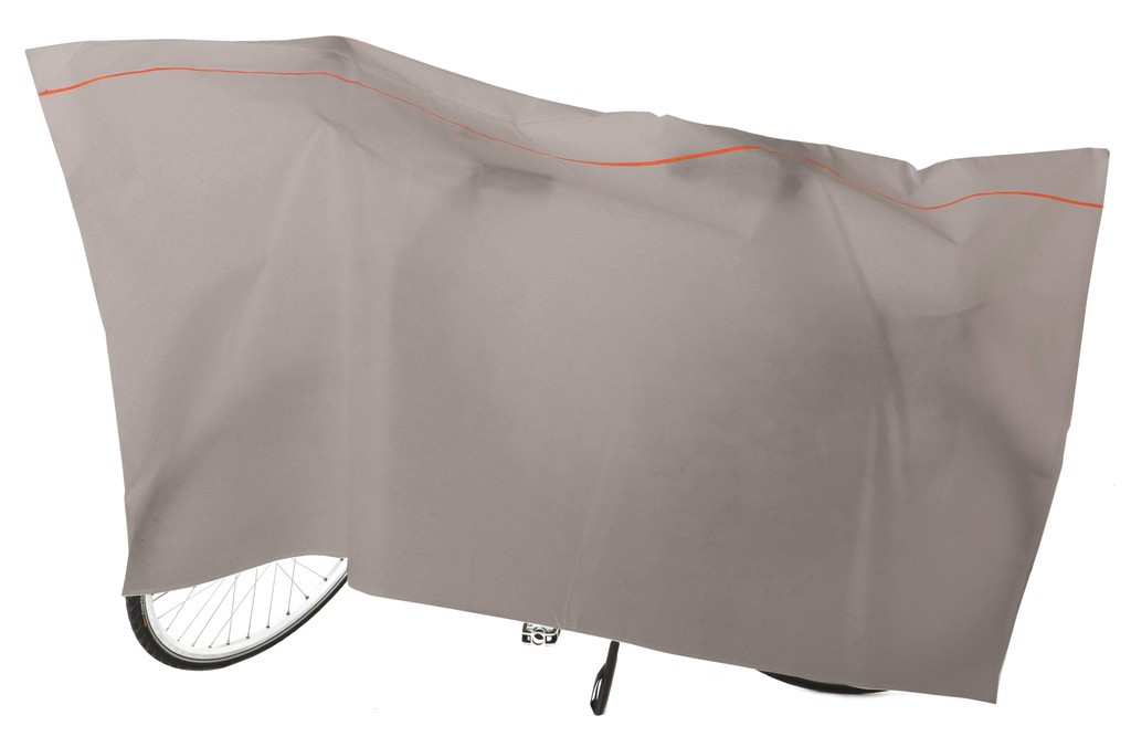 Vk housse de protection v lo 110 x 220cm gris claire for Housse protection velo