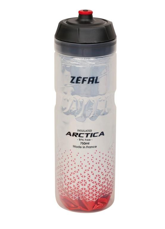 Zéfal Arctica 75 stříbrná/červená (750 ml)