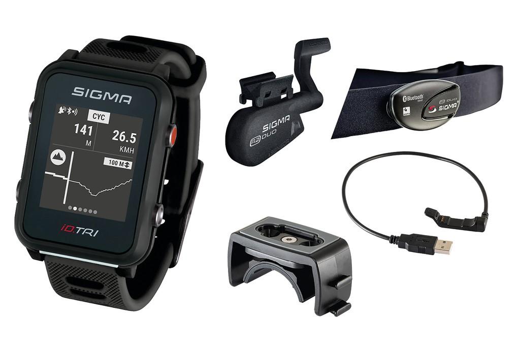 Sport. hodinky Sigma ID Tri Set cerná