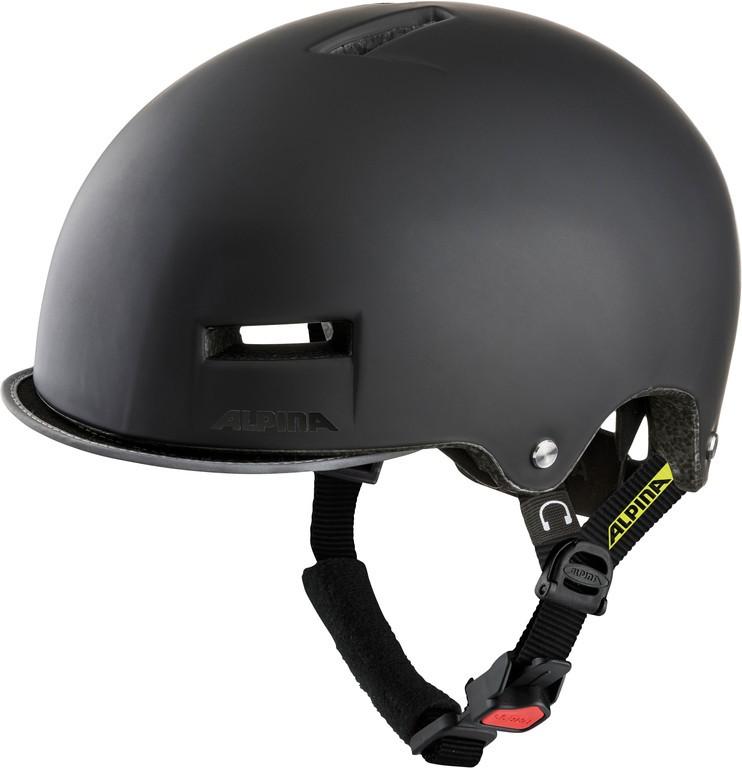 Helma Alpina Grunerlokka černá/neonově žlutá vel.52-57cm