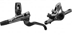 Shimano frein à disque  XTR M9100h hydr. AV, noir, gauche, 1000mm, avec BL-M 9100