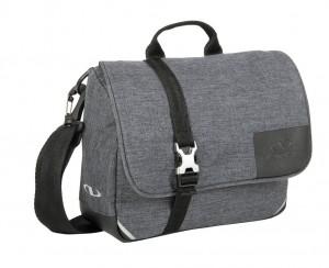 Klickfix sacoche cintre  Bellham tweed grey, 25x19x8cm, sans adapt.cintre
