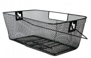 panier ARR pour cartable 46x27x18cm, noir, maille étroite
