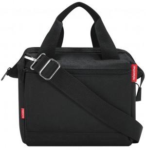 sacoche cintre KLICKfix Roomy noir, 24x22x13cm, sans adaptateur cintre