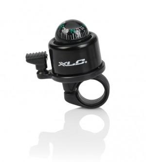 Xlc mini-sonnette  avec boussole DD-M23 noir