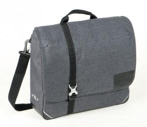 Klickfix sacoche Commuter Finsbury Urban Serie tweed-gris,40x33x10cm,env. 1200g  0233UB