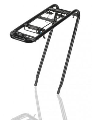 Xlc système porte-bagages alu noir, Retro, 26/28'