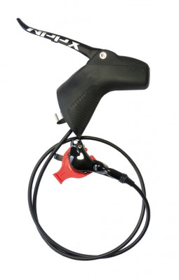 Sram frein à disque hydraulique Apex Moto AR gauche, 1800mm,av. Direct Mount Hard.