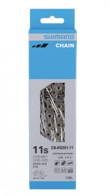 Shimano chaîne  CNHG901 138 maillons 11 vit.maillon.ferm. incl.