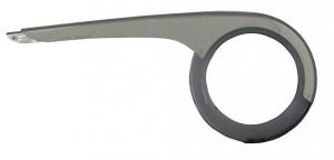 Horn Garde-chaîne Cantena06 à un vantail argent-disque transparent, p. 38 dents