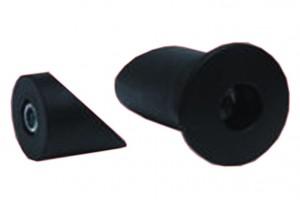 Hebie Set de cônes pour axe creux pour protège-plateau 325E5 LX+XT