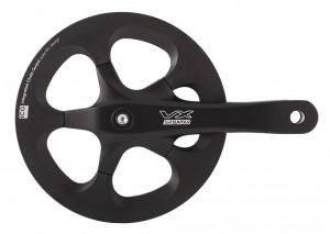 Suntour pédalier SR- VX S noir, 175mm, 42 d.