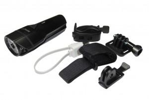 Infini lampe de casque  I-264 PH Lava 500 noir, avec port USB