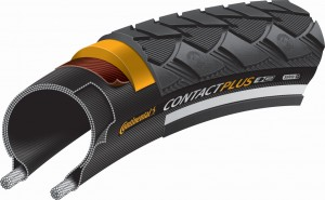 Continental PNEU CONTACT PLUS REFLEX 24x1.75 NEGRA