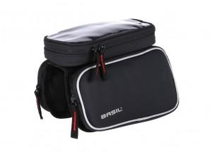 Basil sacoche de cadre  Sport Design noir, hydrofuge, 1,5 litres