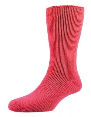 chaussettes Heat² pour femmes rose vif taille 37-42