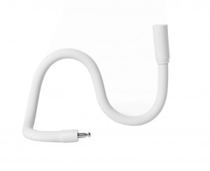 antivol Palomar Lochness-W blanc, flexible,  82,5cm