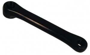 Manivelle gauche, 170 mm lg. Alu, noir