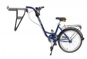 3ème roue Roland bleu, sans vitesse avec roue libre