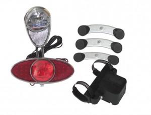 Kit d'éclairage Reelight RL 720 Feu AV+feu AR clignotant+feu de posit.