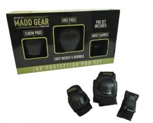 set protecteurs Madd Gear noir, taille S Junior
