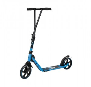 Hudora trottinette Big Wheel  V 205 bleu claire, pliable, 205mm