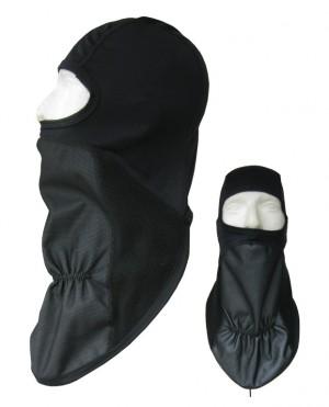 cagoule en polyester avec Air-Stopper noir